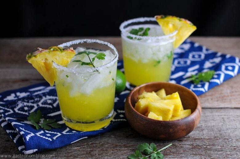 Cinco de Cilantro! – Pineapple Cilantro Margarita