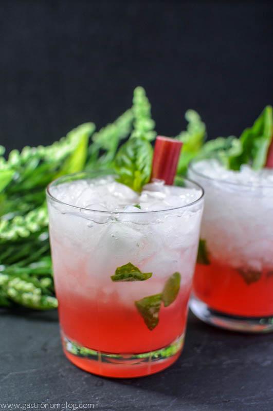 Rhubasil Cocktail