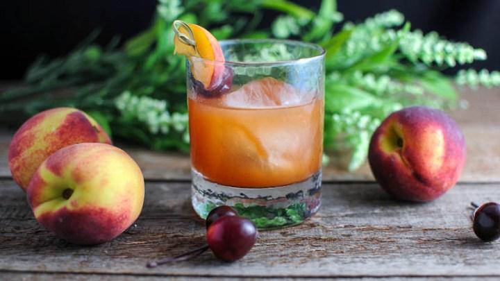 Old Fashioned Spiced Peaches Recipe