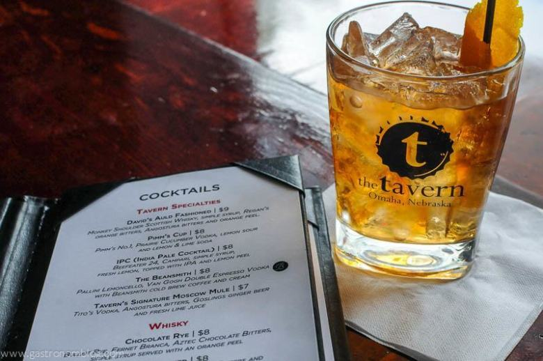 The David's Auld Fashioned - The Tavern Omaha