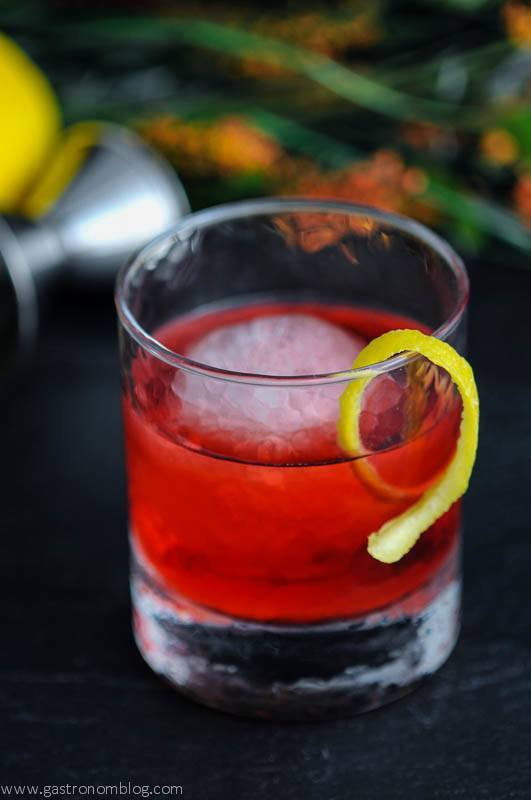 The Boulevardier – A Rye Whiskey Cocktail