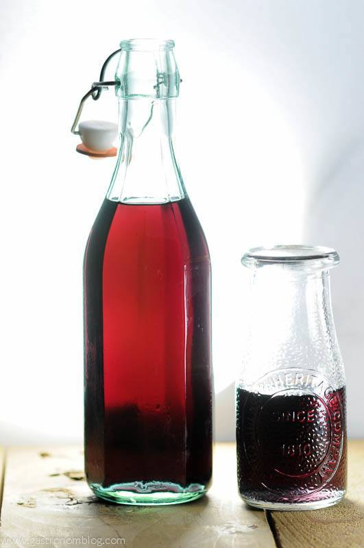 Hibiscus simple syrup can add a rich floral flavor to cocktails or sodas.