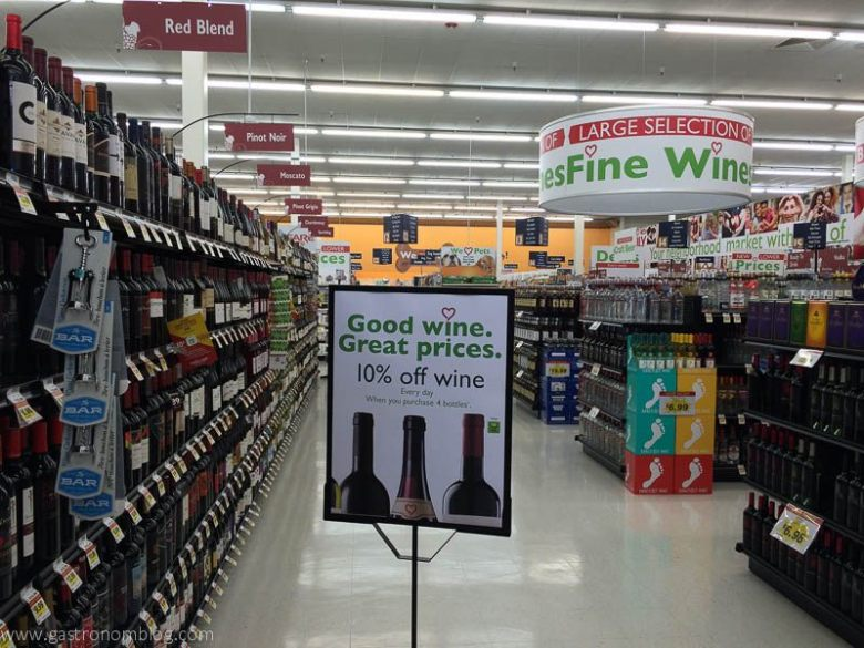 Family Fare offers a huge selection of wine and spirits!