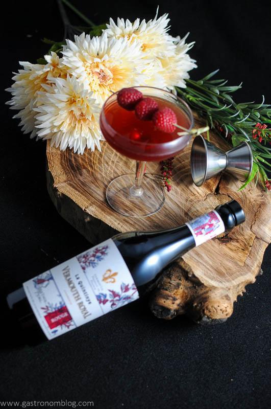 Royal Raspberry - A Raspberry Manhattan Cocktail