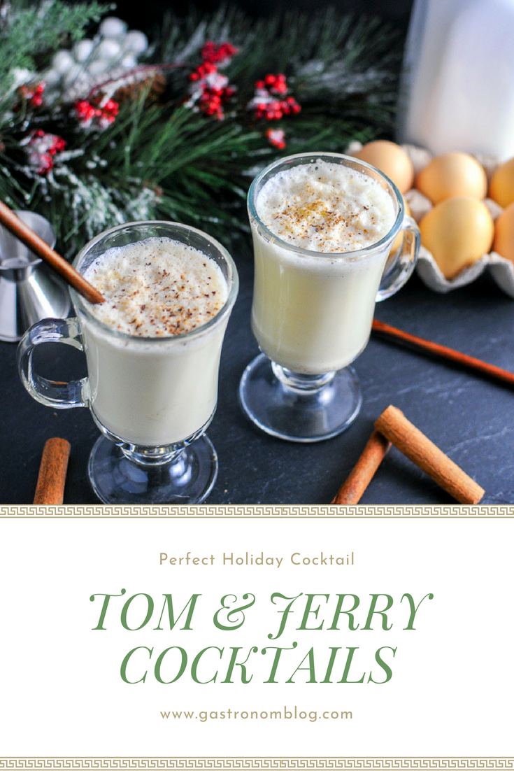 Tom And Jerry A Brandy And Rum Cocktail For The Holidays