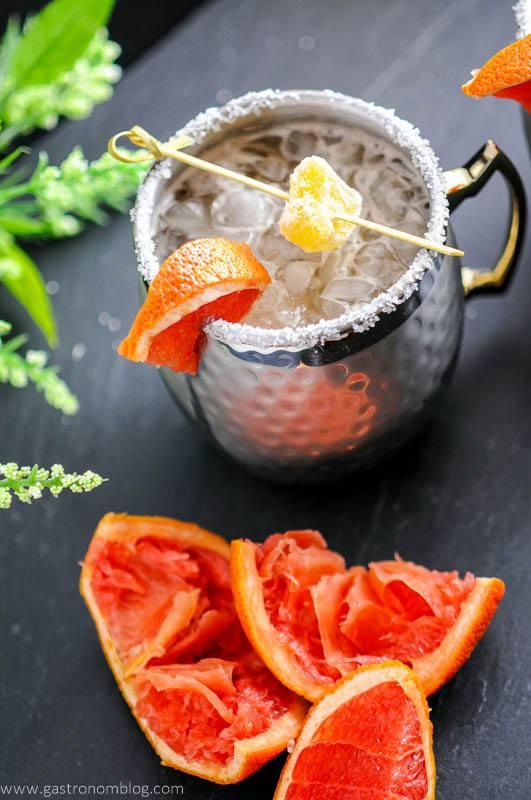 Grapefruit Smoked Salt London Mule