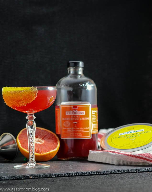 The Tre Agrumi - A Vodka Cocktail