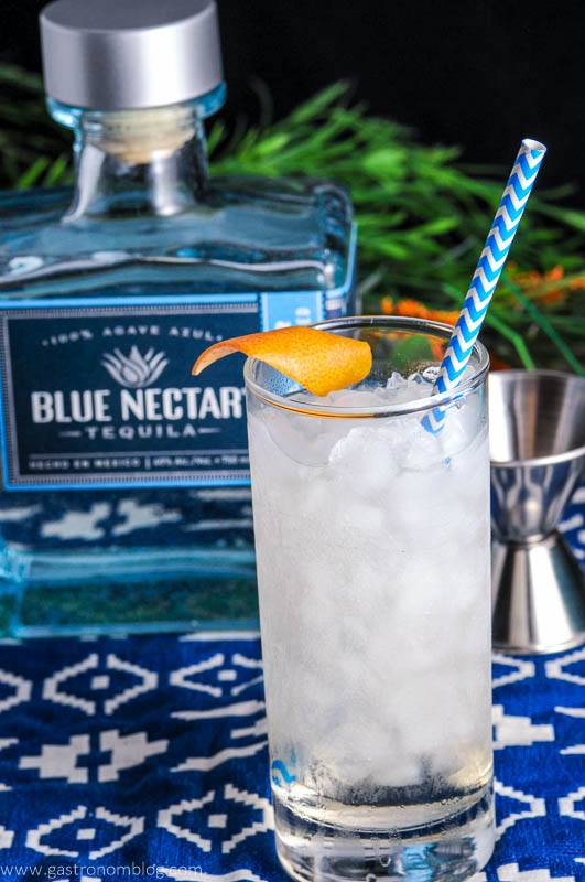 Where the Sea Meets the Sky – A Tequila Cocktail