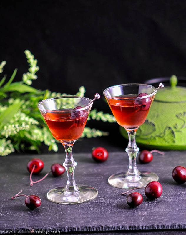 The Cherry Blossom Cocktail - A Sake and Gin Cocktail