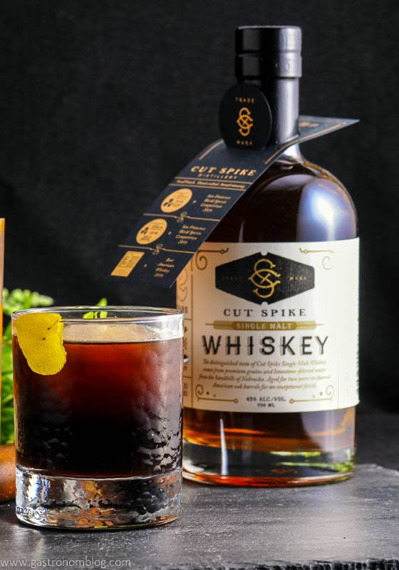 The Bean and Barley - A Whiskey and Coffee Stout Cocktail with Lucky Bucket and Cut Spike