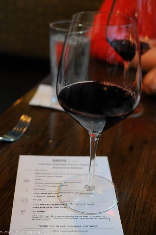 Dante Ristorante Pizzeria - Tuscan Wine Dinner featuring Baracchi WInes
