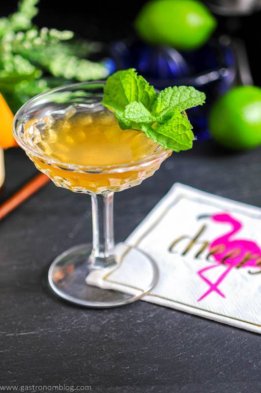 The Shipwreck - a Rum and Lillet Cocktail