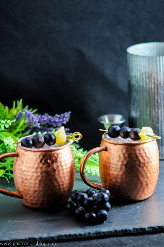 Concord Grape Moscow Mule – A Vodka Cocktail