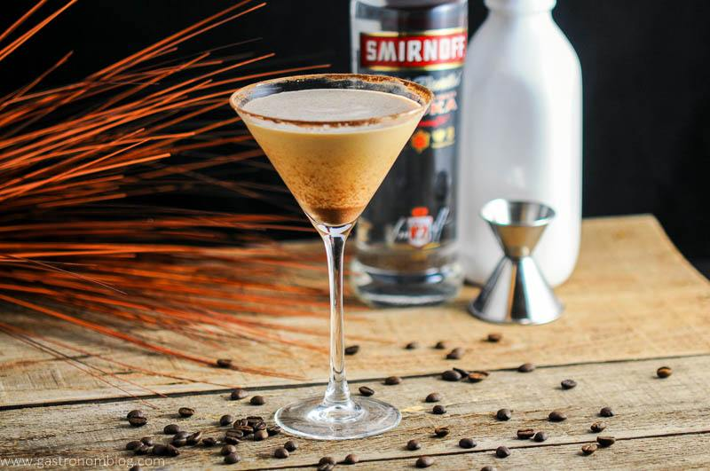 Prettay Prettay Prettay Good Latte Martini with Smirnoff Vokda
