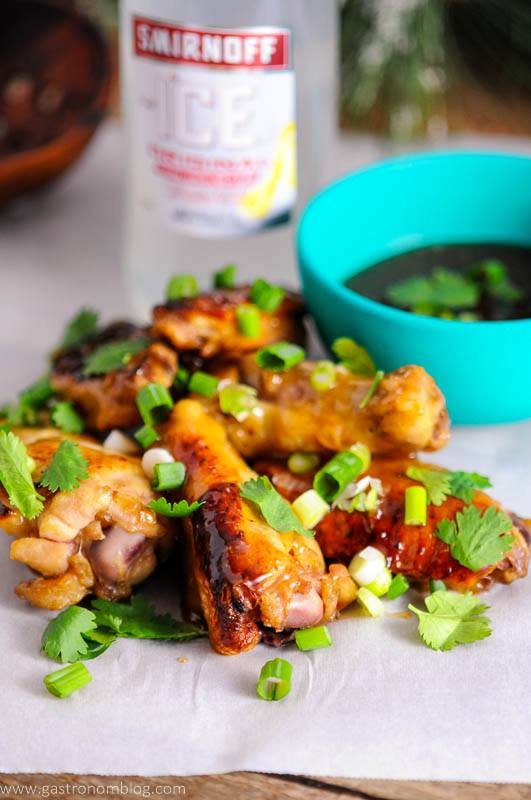 Citrus Asian Chicken wings are perfect for a holiday appetizer.
