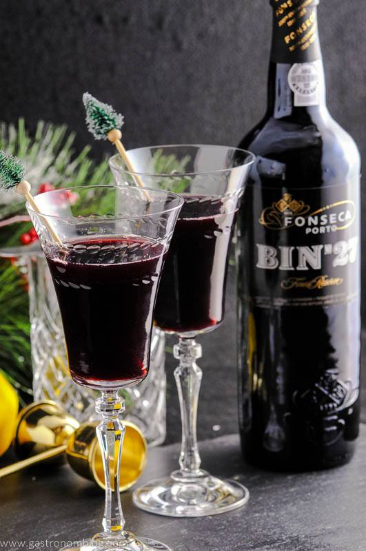 The Recap - A Port Wine Cocktail