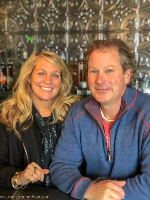 Fred and Amy Groth, Owners and Founders of Prohibition Spirits and Hellocello Distillery