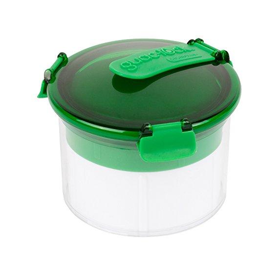 Casabella Guac-Lock Container, Green/White