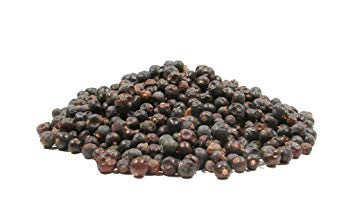 Whole Juniper Berries, Dried - 4 Ounces - Brewing Botanical and Traditional Spice