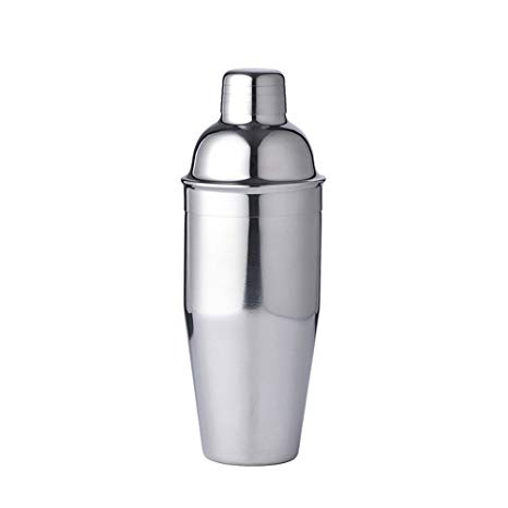 Luckygoobo Stainless Steel Cocktail Shaker,25oz,Silver