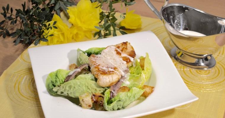 Chicken Caesar Salad-Салата Цезар с Пиле