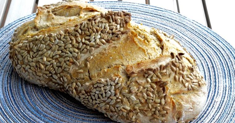 Artisan Rye Bread with Seeds -Домашен Ръжен хляб със семки