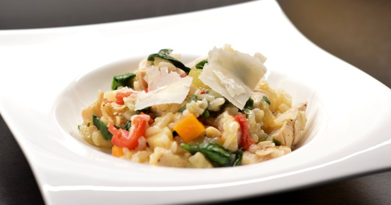 Chicken and Vegetable Risotto-Ризото с пиле и зеленчуци.