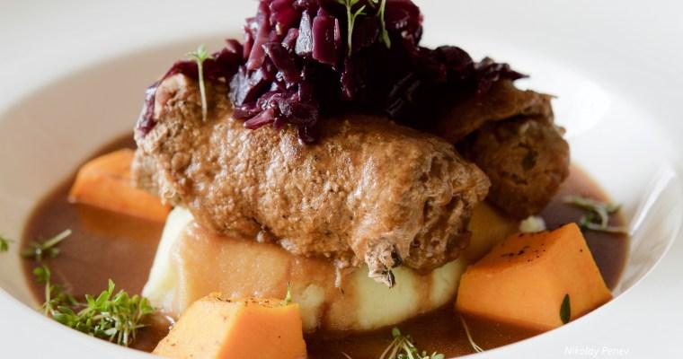 German Beef Rouladen (Rindsrouladen) / Телешки руладини по немски