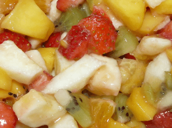 Fruits en dés
