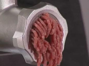 Hacher de la viande
