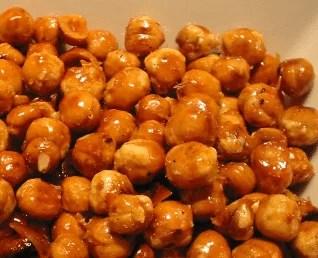 Noisettes caramélisées
