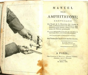 Manuel des amphitryons