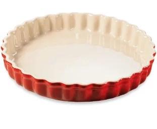 Moule à tarte en céramique