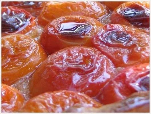 Tarte tatin aux abricots séchés
