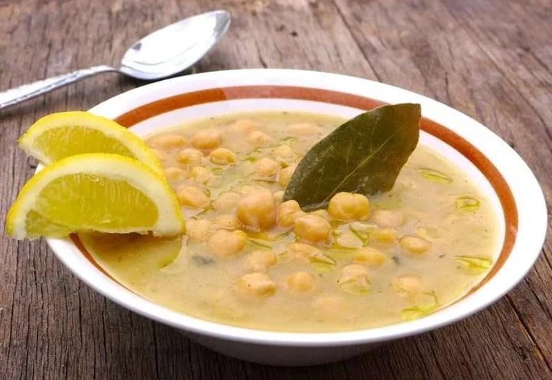 Soupe revithia grecque