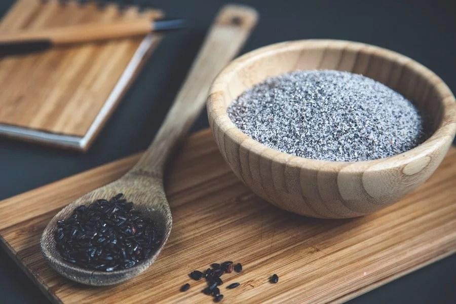 Riz vénéré et farine de riz vénéré