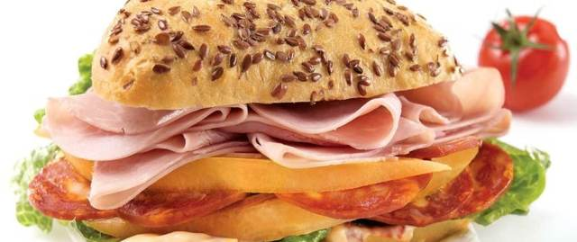 Sandwich duo de charcuteries