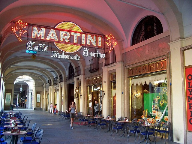 Le siège de Martini à Turin