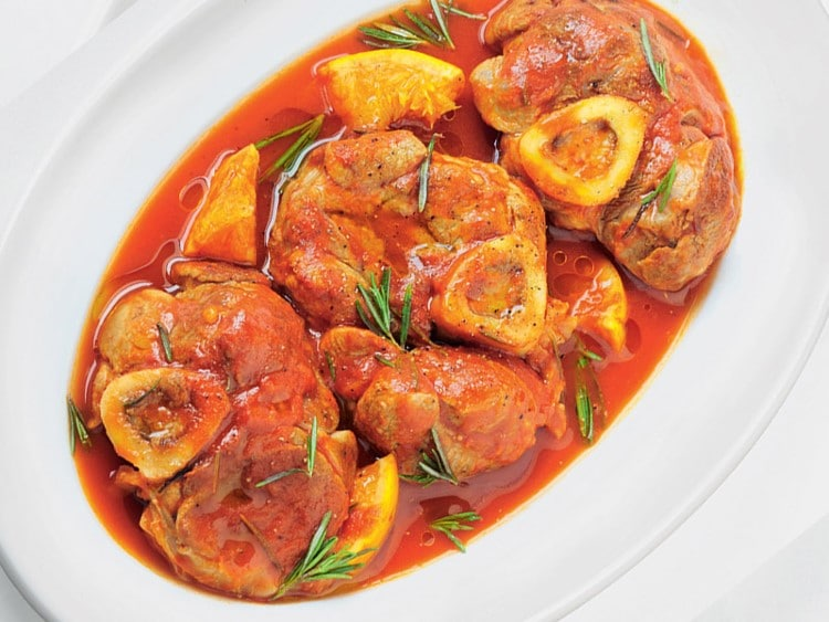 Osso buco à l'orange