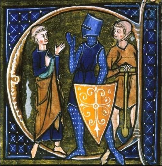 Enluminure du Régime du corps (Londres, British Library)