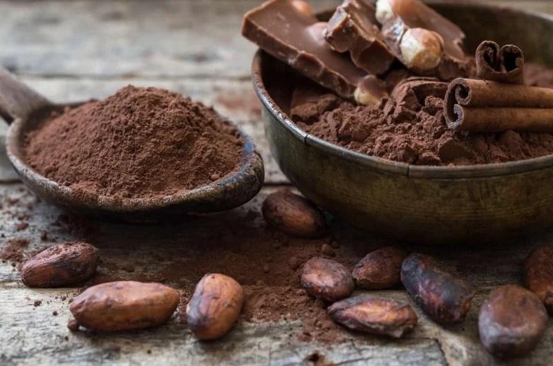 Fèves de cacao, cacao et chocolat