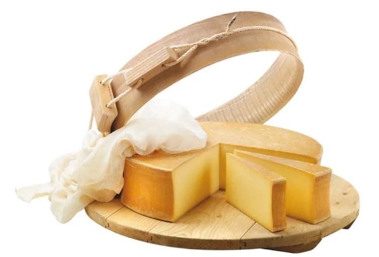 Meule de fromage beaufort