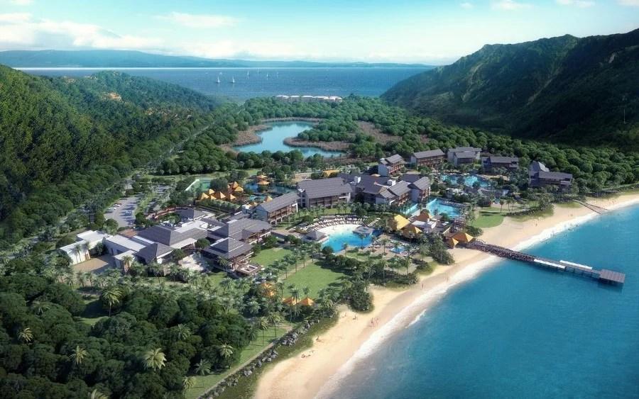 Le complexe de l'hôtel Cabrits Resort & Spa Kempinski Dominica