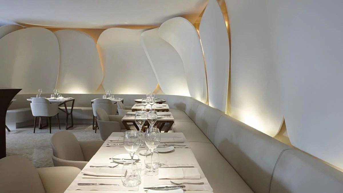 Restaurant Sur Mesure à l'hôtel Mandrin Oriental Paris