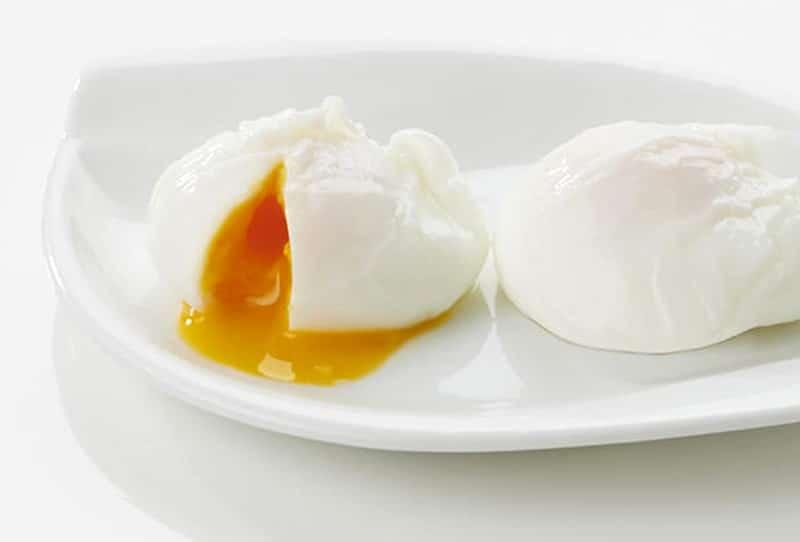 œuf poche