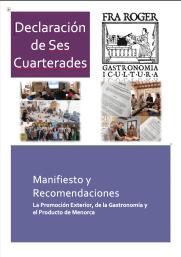 """Declaración de """"Ses Cuarterades"""""""