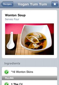 Top 5 aplicaciones para iPhone para vegetarian@s y vegan@s
