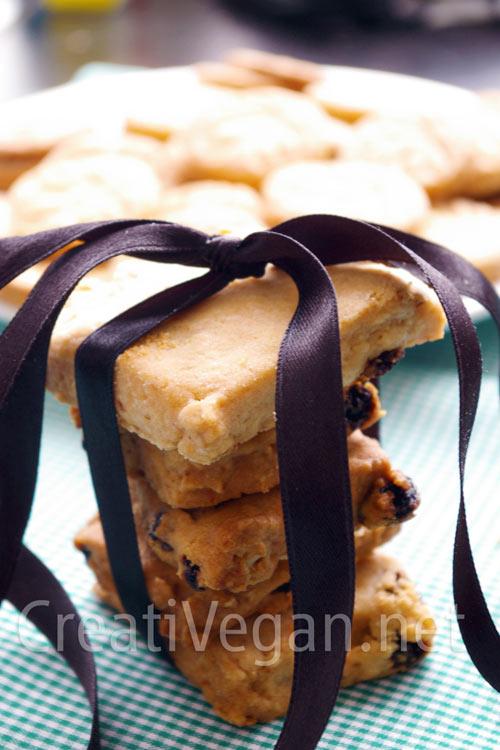 galletas de avena y pasas veganas