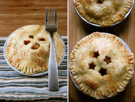 mini tartas de manzana