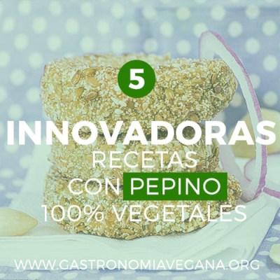 5 innovadoras recetas con pepinos